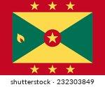 flag of grenada vector... | Shutterstock .eps vector #232303849