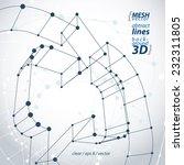 dimensional elegant mesh loop...