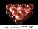 Rows Of Red Aromatic Bath Ball...