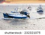 Tired Fisherman Homewards At...