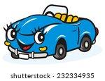 blue car  vector icon