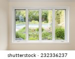 large four pane window looking... | Shutterstock . vector #232336237