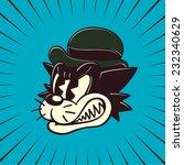 vintage toons  retro cartoon... | Shutterstock .eps vector #232340629