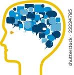 vector illustration of head... | Shutterstock .eps vector #23234785