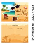 a vector illustration of travel ...   Shutterstock .eps vector #232377685