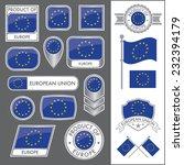a huge vector collection of eu...
