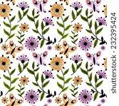 seamless pattern   Shutterstock .eps vector #232395424