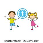 medical graphic design   vector ... | Shutterstock .eps vector #232398109