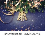 christmas tree | Shutterstock . vector #232420741