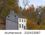 old boat house on the potomac... | Shutterstock . vector #232423087