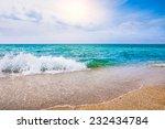 Tropical Beach. Sky And Sea....