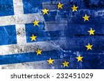 greece and european union flag... | Shutterstock . vector #232451029