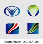 icon set. logo design elements  | Shutterstock .eps vector #232464235