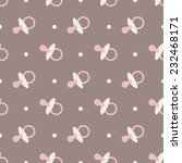 Baby Seamless Pattern. Pink ...