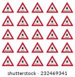 tick warning label in 25... | Shutterstock .eps vector #232469341
