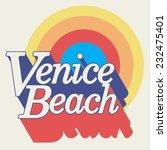 Venice Beach Typography  T...