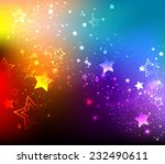 rainbow background with...
