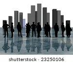 silhouette | Shutterstock . vector #23250106