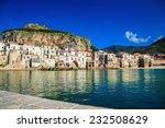 beautiful harbor view of... | Shutterstock . vector #232508629