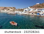 Goupa Fishing Village  Kimolos...