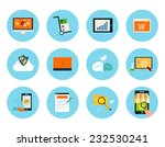 set for web and mobile... | Shutterstock .eps vector #232530241