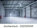 new modern storehouse ... | Shutterstock . vector #232539349