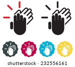 human resource   applause | Shutterstock .eps vector #232556161
