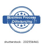 business process outsourcing... | Shutterstock . vector #232556461