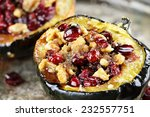 Acorn Squash Stuffed And Baked...