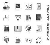 official documents translation...   Shutterstock .eps vector #232569871