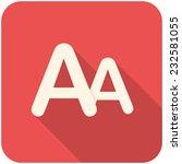 font size  modern flat icon...