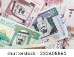 modern saudi arabia money ... | Shutterstock . vector #232608865