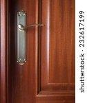 detail of a door with handle... | Shutterstock . vector #232617199