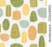 A Seamless Pattern With Leaves...