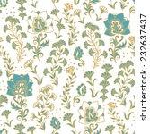 seamless floral pattern   Shutterstock .eps vector #232637437