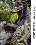 monsters in bomarzo  italy | Shutterstock . vector #2326417
