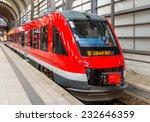 a diesel suburban train in kiel ...   Shutterstock . vector #232646359