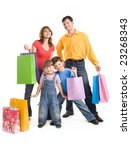 image of cheerful family... | Shutterstock . vector #23268343