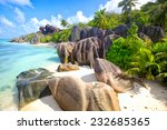 Small photo of Anse Source d'Argent beach, La Digue Island, Seyshelles