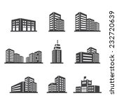 building icon | Shutterstock vector #232720639