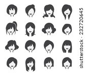 woman icon | Shutterstock .eps vector #232720645