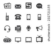 communication icon | Shutterstock .eps vector #232721155