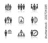 business and management icons. | Shutterstock .eps vector #232724185