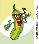 cartoon illustration of funny... | Shutterstock .eps vector #23273761