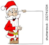 vector illustration of a santa... | Shutterstock .eps vector #232741534