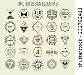 hipster design elements | Shutterstock .eps vector #232762411