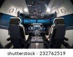 Airplane Cockpit View