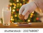 Hand Of Santa Claus Picking...
