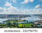 looking out over the istanbul... | Shutterstock . vector #232796791