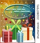 """""""christmas card""""   Shutterstock .eps vector #232807591"""